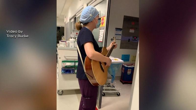 Singing ICU Nurse