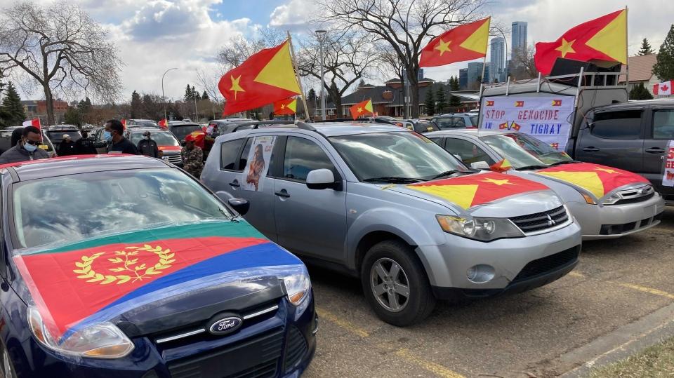 Tigrayan protest