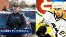 Const. Steven McKenna of the Waterloo Regional Police Service played for four teams in the NHL. (Source: WRPS) (Apr. 24, 2021)