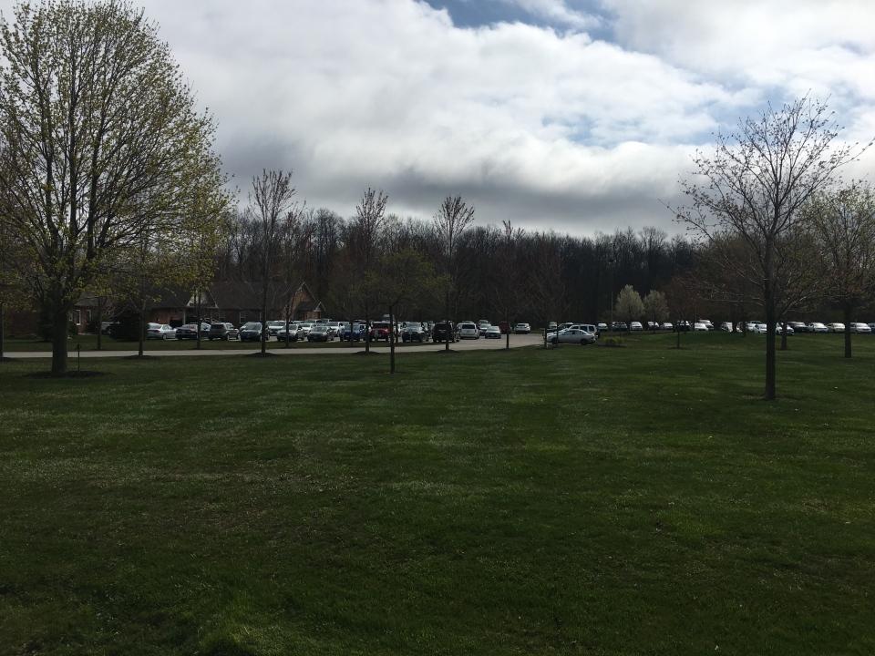 Church of God parking lot