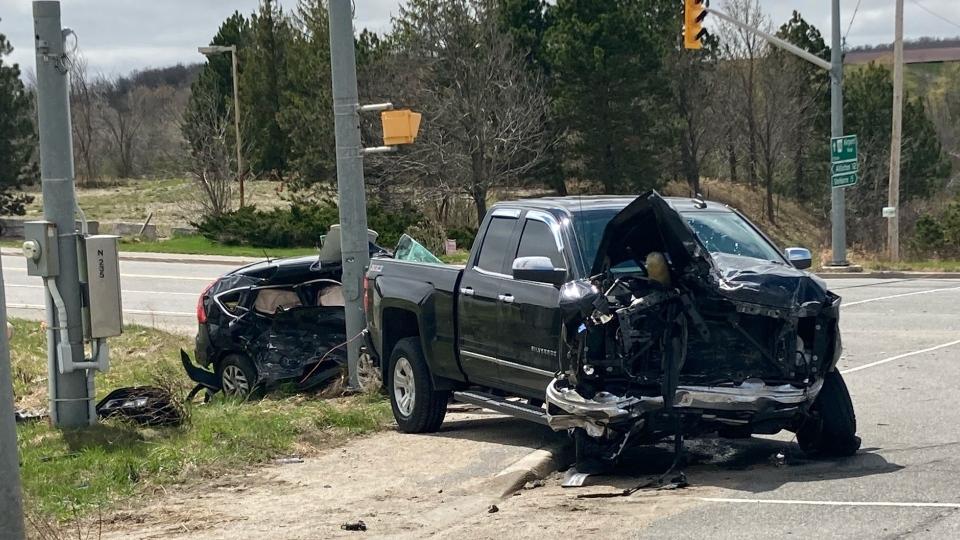 April 25 Crash