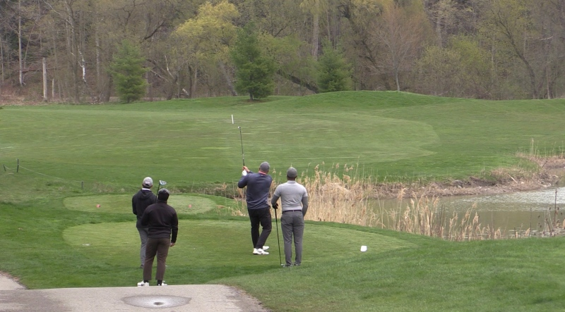 The Bridges golf course in Tillsonburg, Ont. on April 25, 2021. (Brent Lale/CTV London)