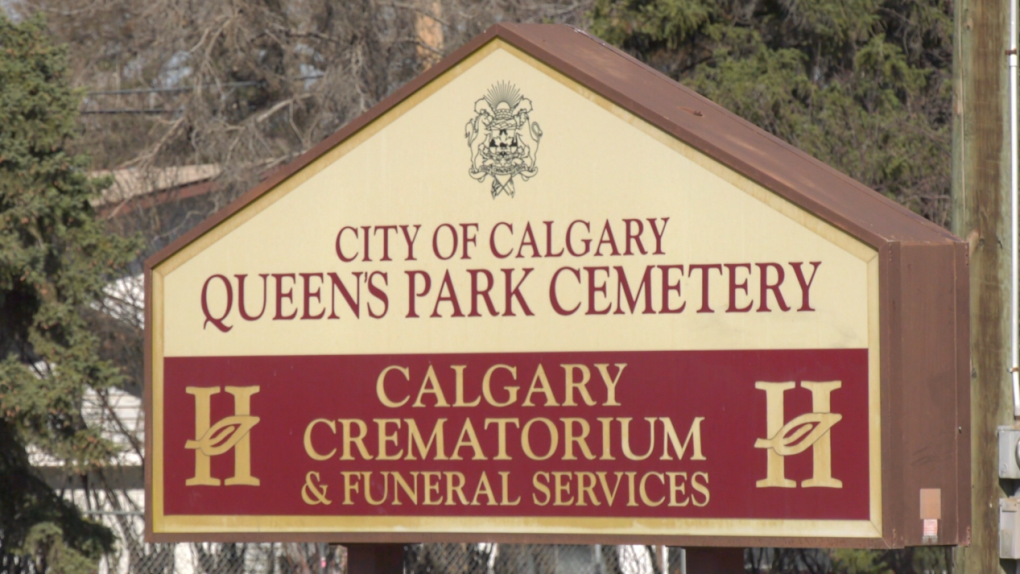 Worker injured , collapse, Queen's Park Cemetery,