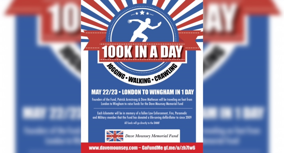 100K in a Day fundraiser
