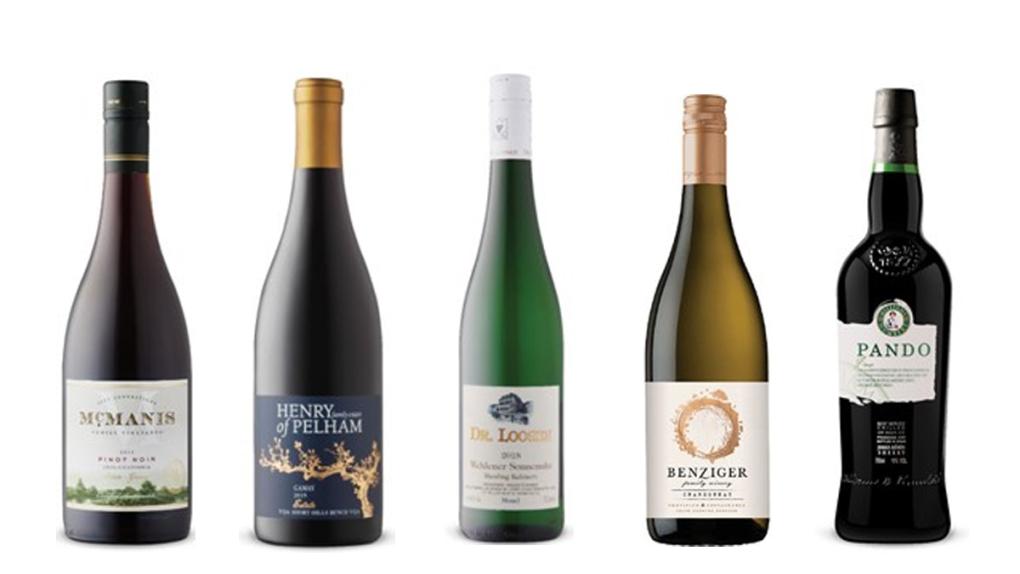 Natalie MacLean's Wines of the Week. Apr. 19, 2021