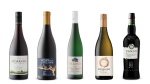 McManis Family Vineyards Pinot Noir 2019. Henry Of Pelham Estate Gamay 2019, Dr. Loosen Wehlener Sonnenuhr Riesling 2018, Benziger Family Winery Chardonnay 2017, Williams & Humbert Pando Fino Dry Sherry