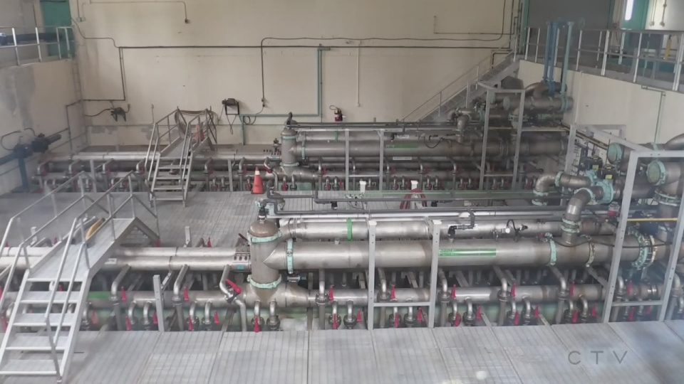 Collingwood water treatment