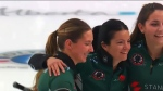 Kerry Einarson's team is set to represent Canada at the world curling championships which kick off later this week in Calgary
