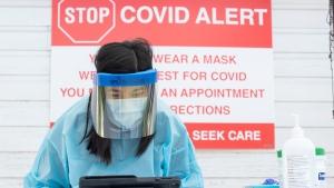 COVID cases Ontario