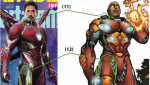 The lawsuit against Marvel alleges that details in Iron Man's suit in the Avengers series were taken from Horizon Comic's Radix series. SOURCE: Fasken Martineau DuMoulin LLP