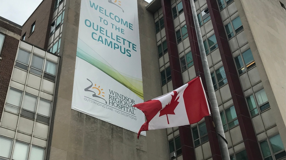 Canadian flag WRH