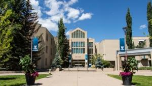 East gate of Mount Royal University in southwest Calgary. (File)