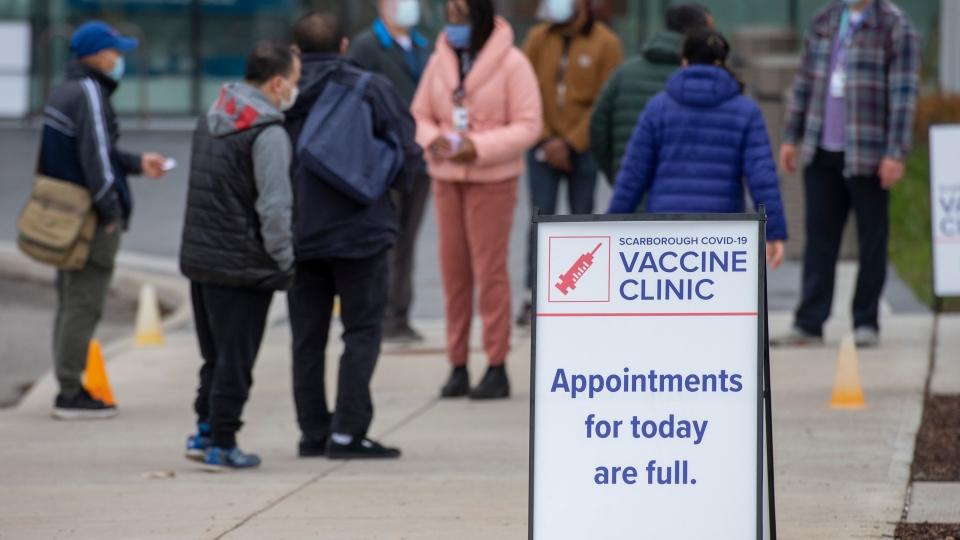 toronto covid vaccine