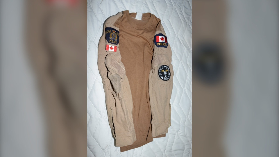 RCMP shirt
