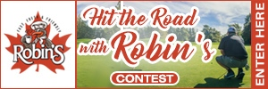 Hit The Road With Robins Button