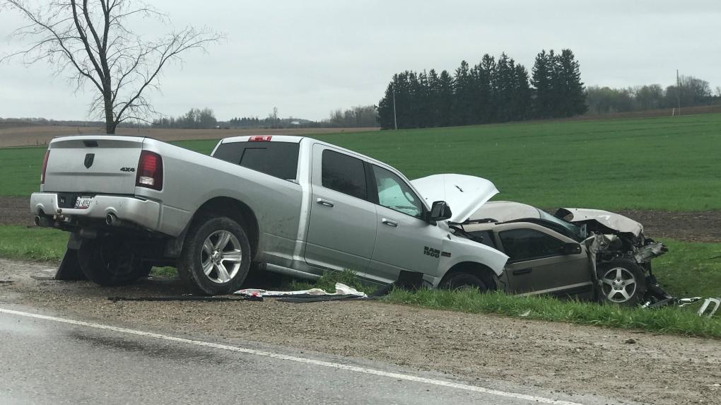 Crash in Harriston