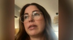 """""""I can't believe this is happening to my family right now,"""" Andrea Martin said about testing positive for COVID-19 after her husband conrtacted the virus."""