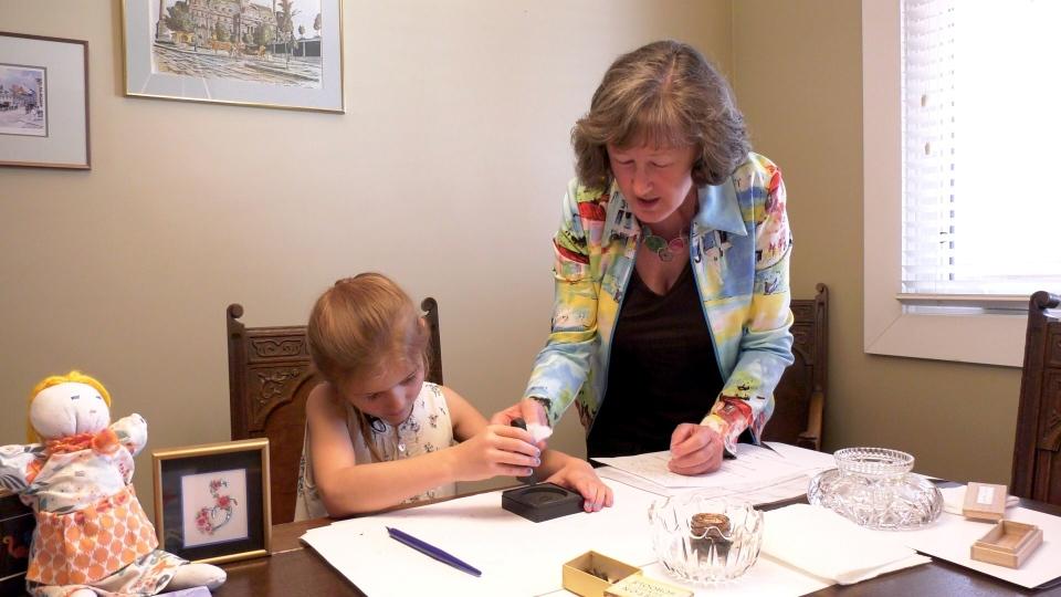 Calgary calilgraphy Thea Lynn Paul