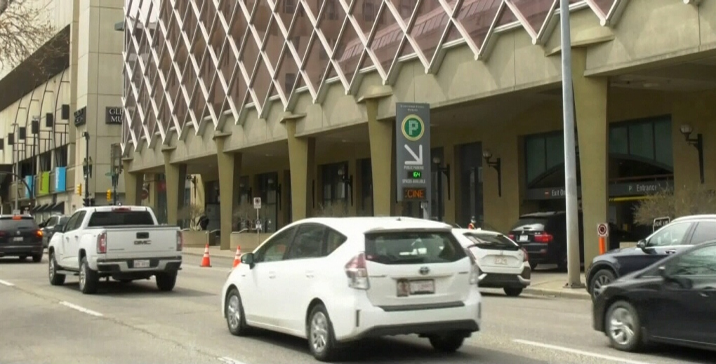 Vaccine seekers get parking tickets