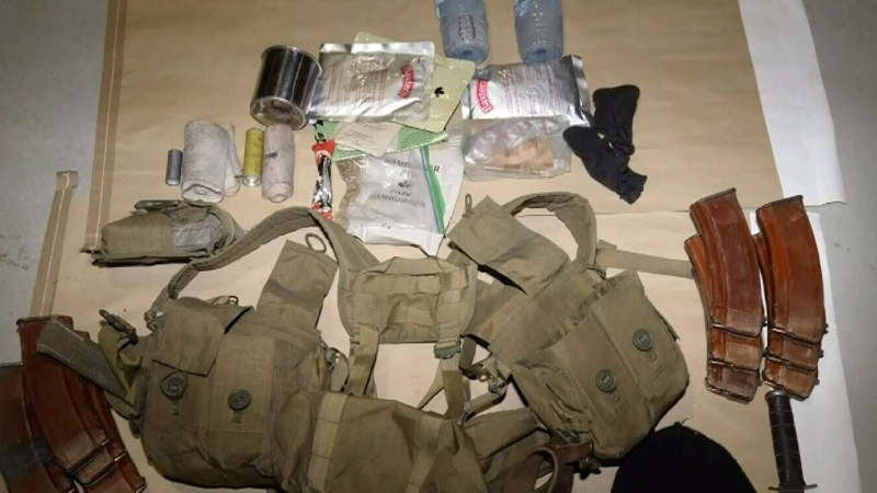 These items were among those seized by Mounties from Kelvin Maure in February of 2021.