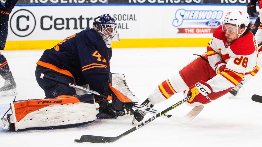 Oilers, Flames