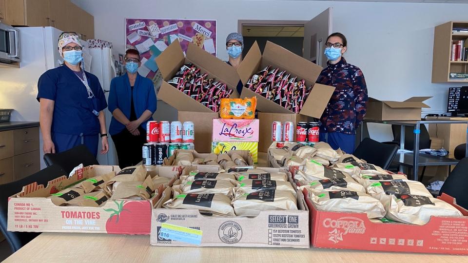 Subban lunch donation