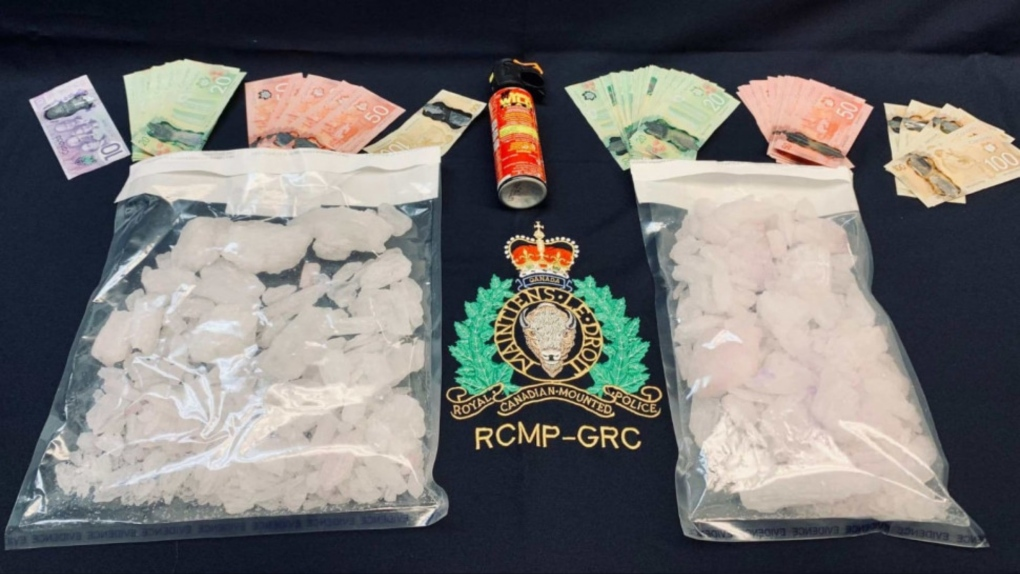 Drugs seized by RCMP
