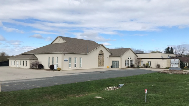 Trinity Bible Chapel is shown in this file image (Dan Lauckner / CTV News Kitchener)