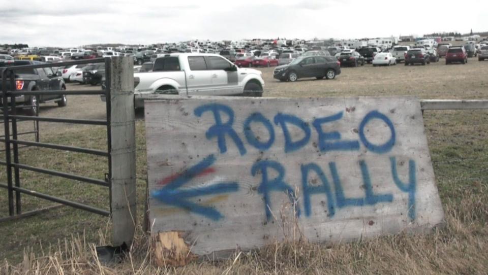 calgary, alberta, bowden, rodeo, covid-19, covid 1