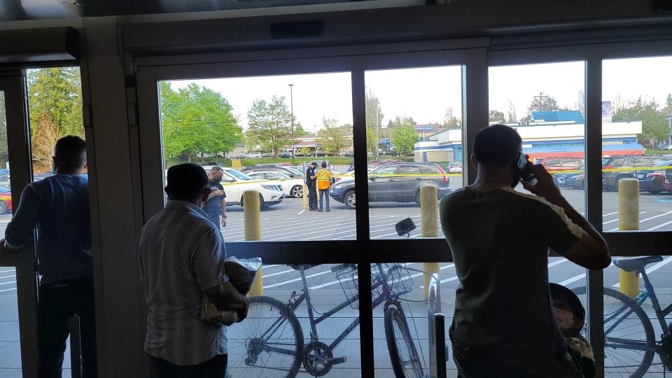 Delta Walmart police presence
