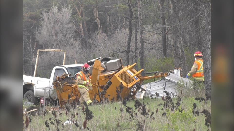 Crash on Highway 400