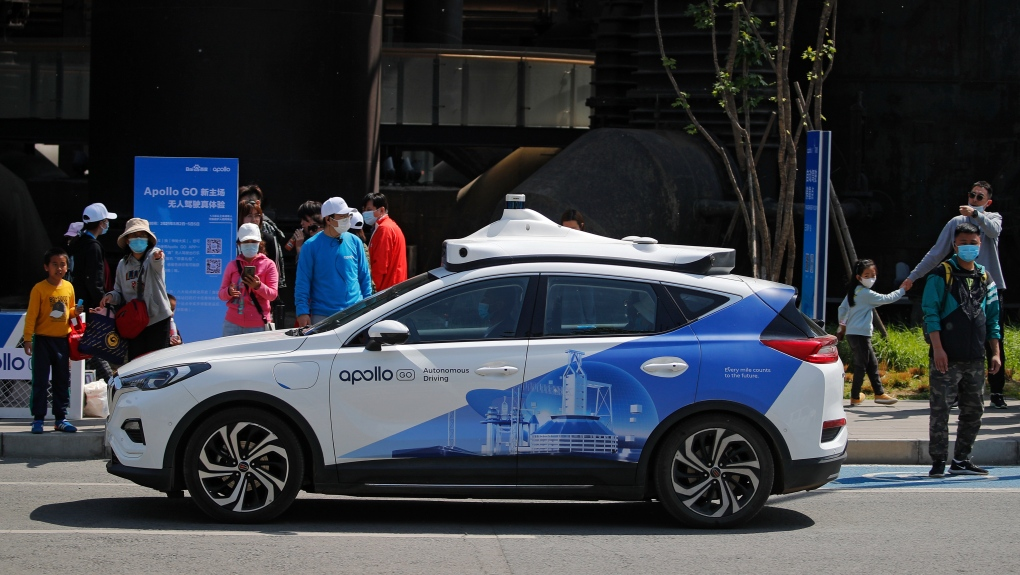 Baidu self-driving