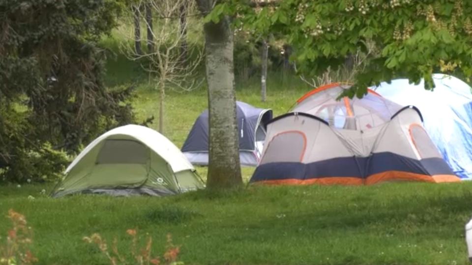 Victoria park tents