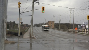 Anne Street will be closed between Edgehill Drive and Donald Street for 18 months as the Anne Street bridge is replaced.