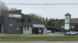 The CMH COVID-19 testing centre (Tyler Calver / CTV News Kitchener)
