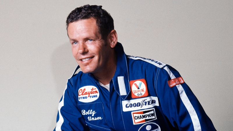 "Race car driver Bobby Unser is shown in this 1977 file photo. Bobby Unser, a three-time Indianapolis 500 winner and part of the only pair of brothers to win ""The Greatest Spectacle in Racing"" has died. He was 87. He died Sunday, May 2, 2021, at his home in Albuquerque, New Mexico of natural causes, The Indianapolis Speedway said Monday. (AP Photo/File)"