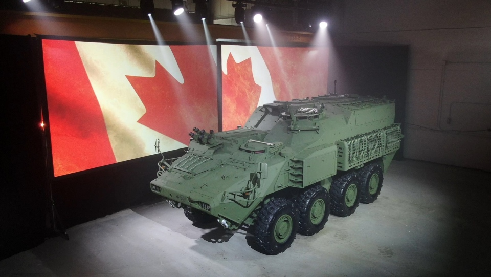 New GDLSC vehicle