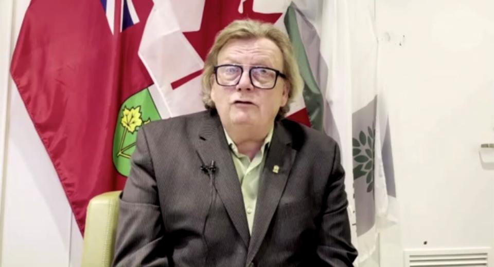 Mayor Ed Holder