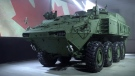 A new armoured combat support vehicle (ACSV) produced by General Dynamics Land Systems - Canada is seen in this image provided by the manufacturer.
