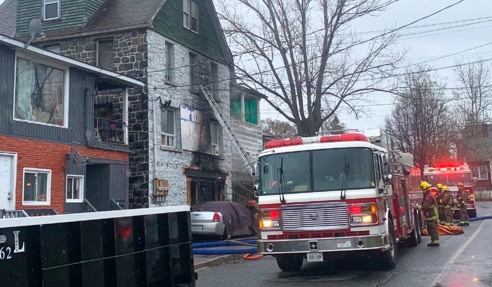 Melvin Street fire