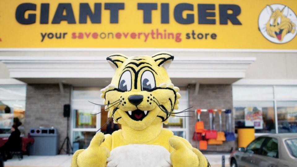 Giant Tiger tiger