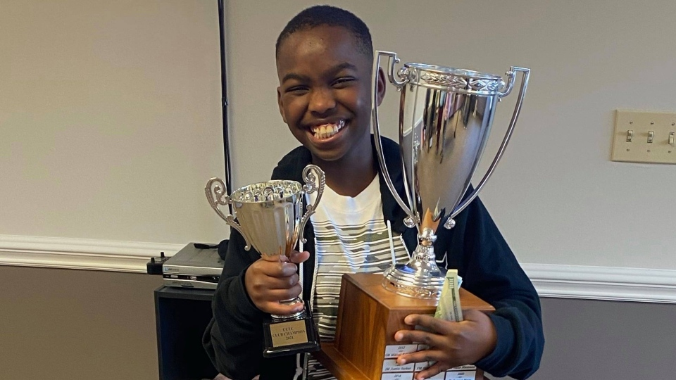 U.S. national chess master Tani Adewumi
