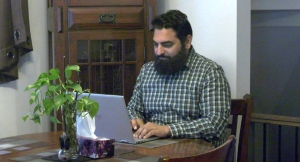 Asif Hameed spent over two hours trying to book a vaccine appointment through the provincial portal. (Colton Praill / CTV News Ottawa)