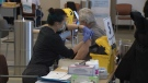 Alberta Health Services will be holding a vaccine blitz at the Edmonton EXPO Centre from Wednesday to Friday. (File Photo)