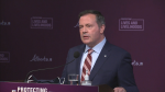 Alberta Premier Jason Kenney will be joined by Chief Medical Officer of Health Dr. Deena Hinshaw and Health Minister Tyler Shandro for an announcement on Tuesday afternoon. The update is expected to include Alberta's second dose distribution strategy for COVID-19 vaccines. (File Photo)