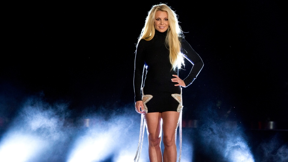 Britney Spears criticized the documentaries being made about her life. (Steve Marcus/Las Vegas Sun/AP/CNN)