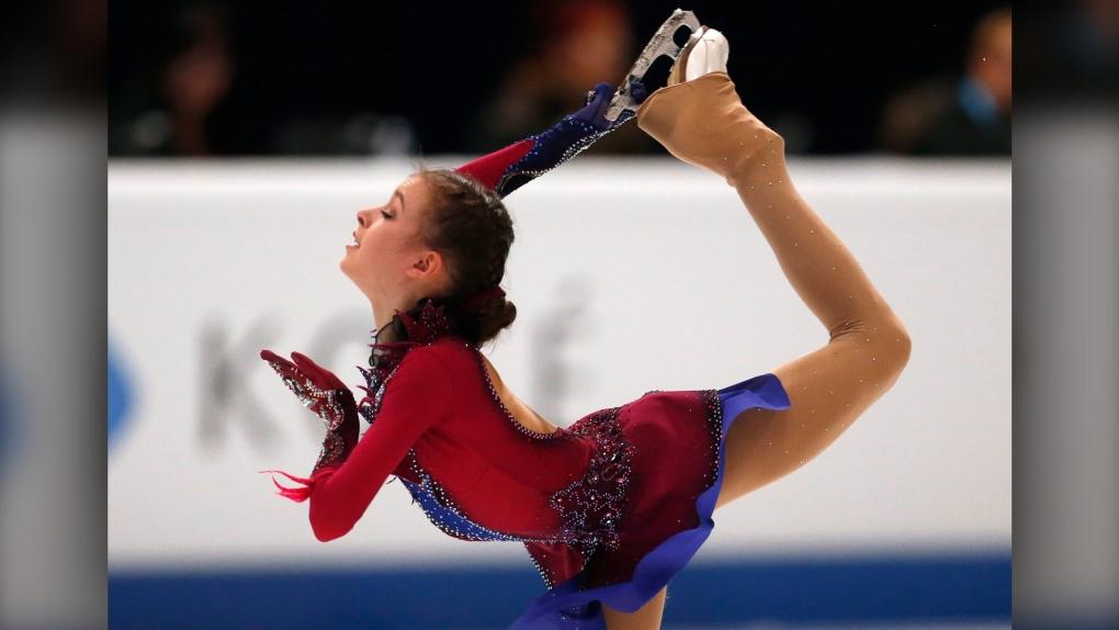 Anna Shcherbakova, Russia, figure skating, worlds