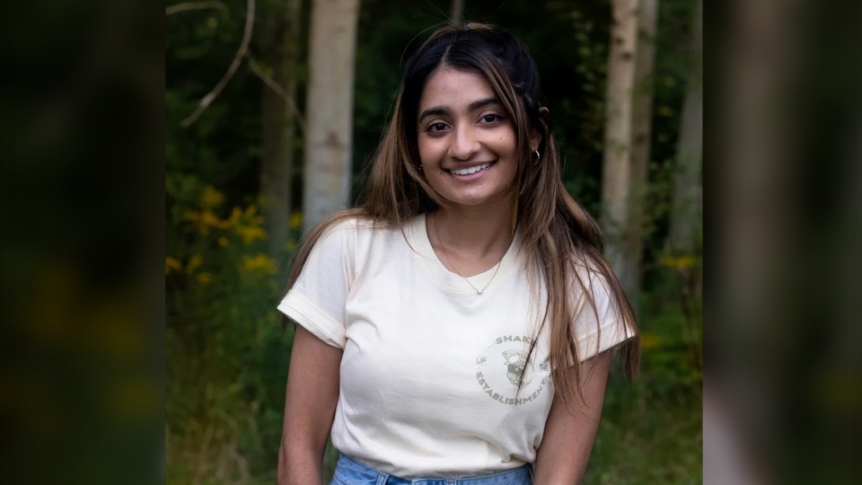 Environmentalist Manvi Bhalla