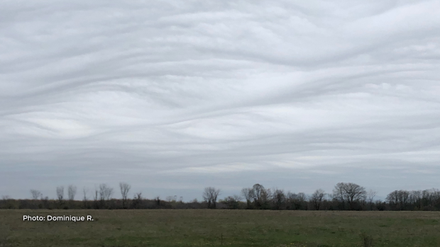 Rare cloud formation outside of Richmond on May 4th. (Dominique R./CTV Viewer)