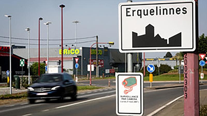 Erquelinnes, Belgium, is at the center of a border mishap with France. (Virginie LeFour/Belga/Sipa USA/CNN)